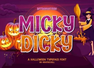 Micky Dicky Font