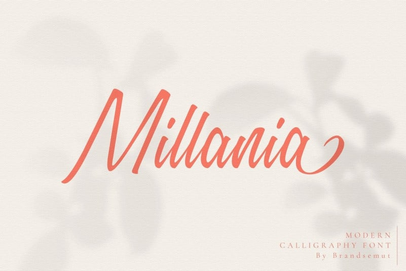 Millania Script Font