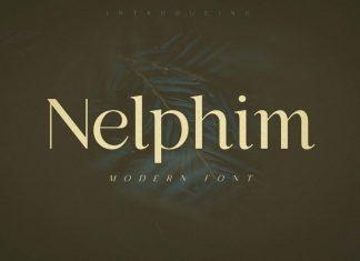 Nelphim Sans Serif Font