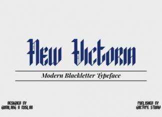 New Victoria Blackletter Font