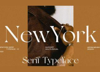 NewYork Serif Font