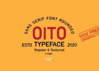 Oito Display Font