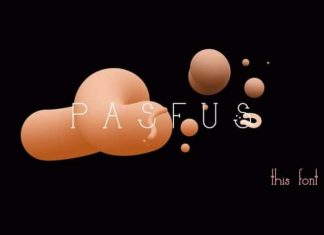 Pasfus Display Font