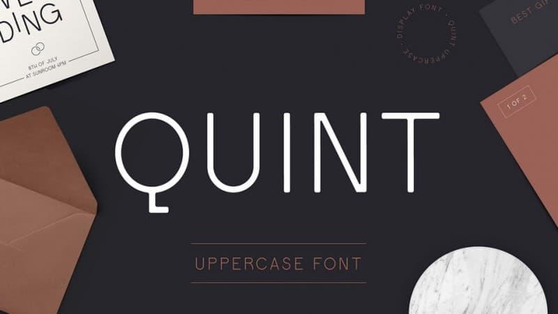 Quint Sans Serif Font
