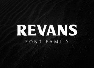 Revans Serif Font