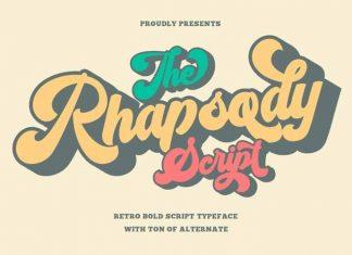 Rhapsody Script Font