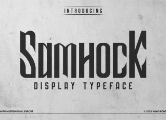 Samhock Display Font