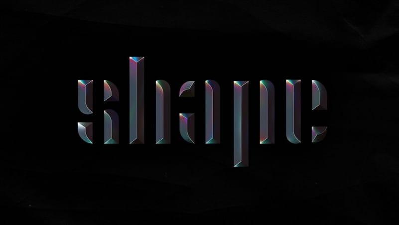 Shape Display Font