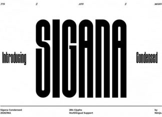 Sigana Display Font