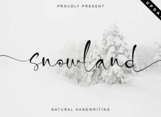 Snowland Script Font