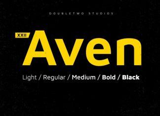 XXII Aven Font Family
