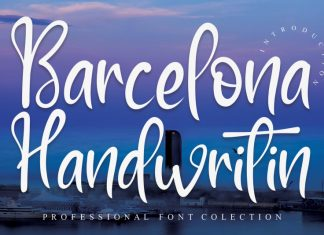 Barcelona Handwritin Font