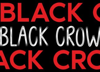 BLACK CROW Brush Font