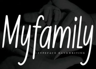 Myfamily Handwritten Font