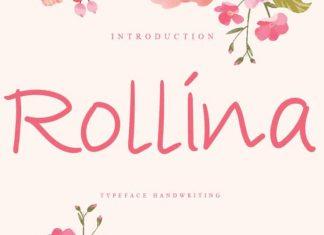 Rollina Handwritten Font
