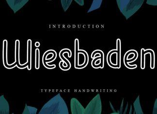 Wiesbaden Handwritten Font