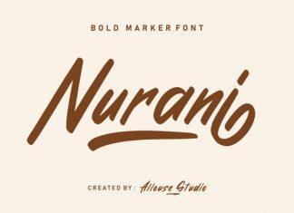 Nurani Script Font