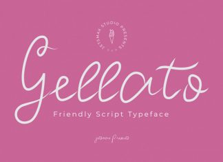 Gellato Script Font