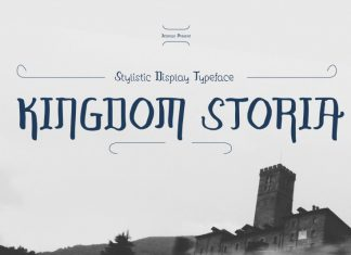 Kingdom Storia Display Font
