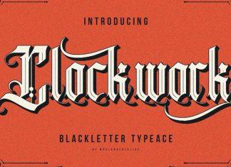 Clockwork Font