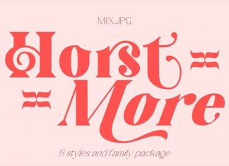 Horst More Serif Font