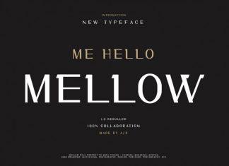 Me Hello Mellow Modern Font