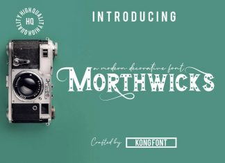 Morthwicks Display Font