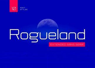 Rogueland Sans Serif Font