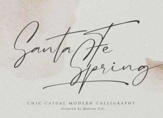Santa Fe Spring Handwritten Font