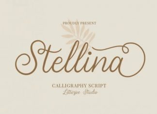 Stellina Calligraphy Font
