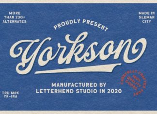 Yorkson Script Font