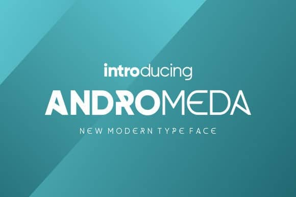 Andromeda Display Font