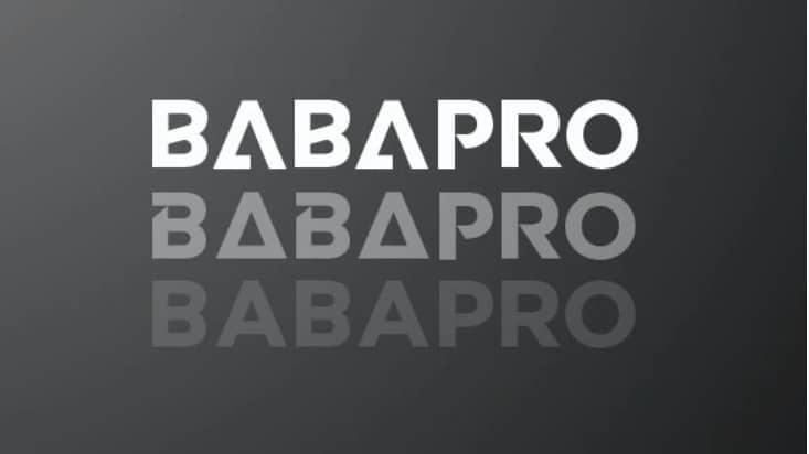 Babapro Display Font