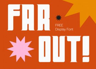 Far Out! Display Font