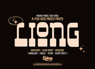 Liong Display Font