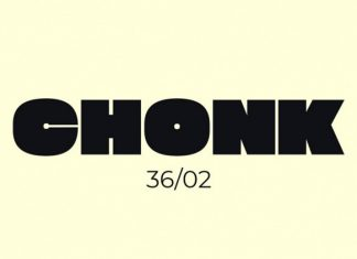 Chonk Display Font