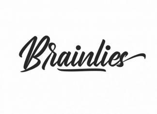 Brainlies Calligraphy Font