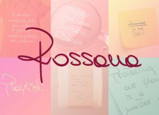 Rossana Handwritten Font