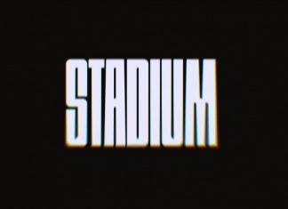 Stadium Display Font