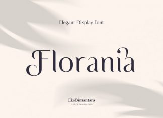 Florania Sans Serif Font