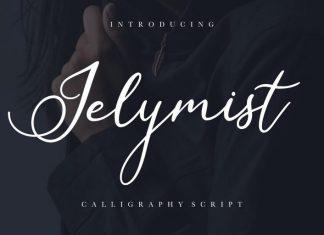 Jelymist Calligraphy Font