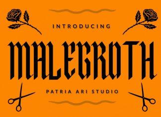 Malegroth Font