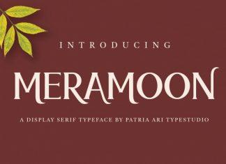 Meramoon Serif Font