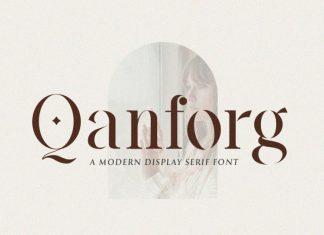 Qanforg Serif Font
