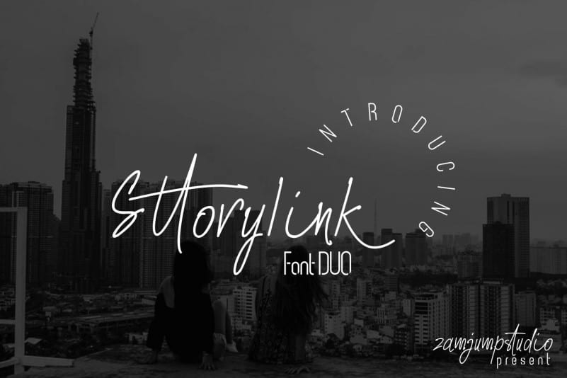 Sttoryink Font Duo