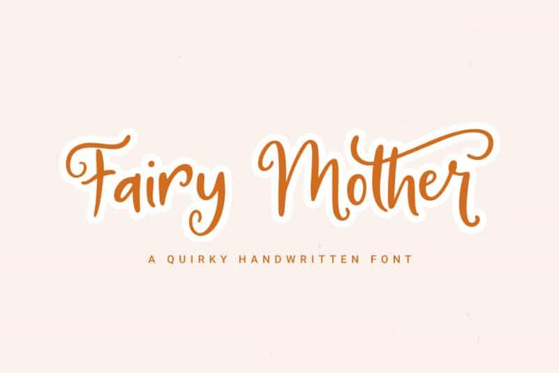 Fairy Mother Script Font