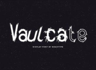 Vaulcate Display Font