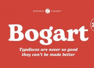 Bogart Serif Font
