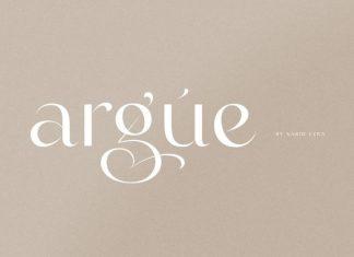 Argue Sans Serif Font