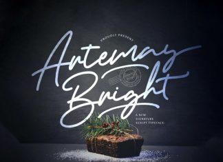 Artemay Bright Handwritten Font